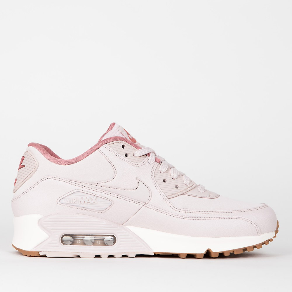 2062dcf3e674 Nike Wmns Air Max 90 Leather - Silt Red   Silt Red - Red Stardust - Sail