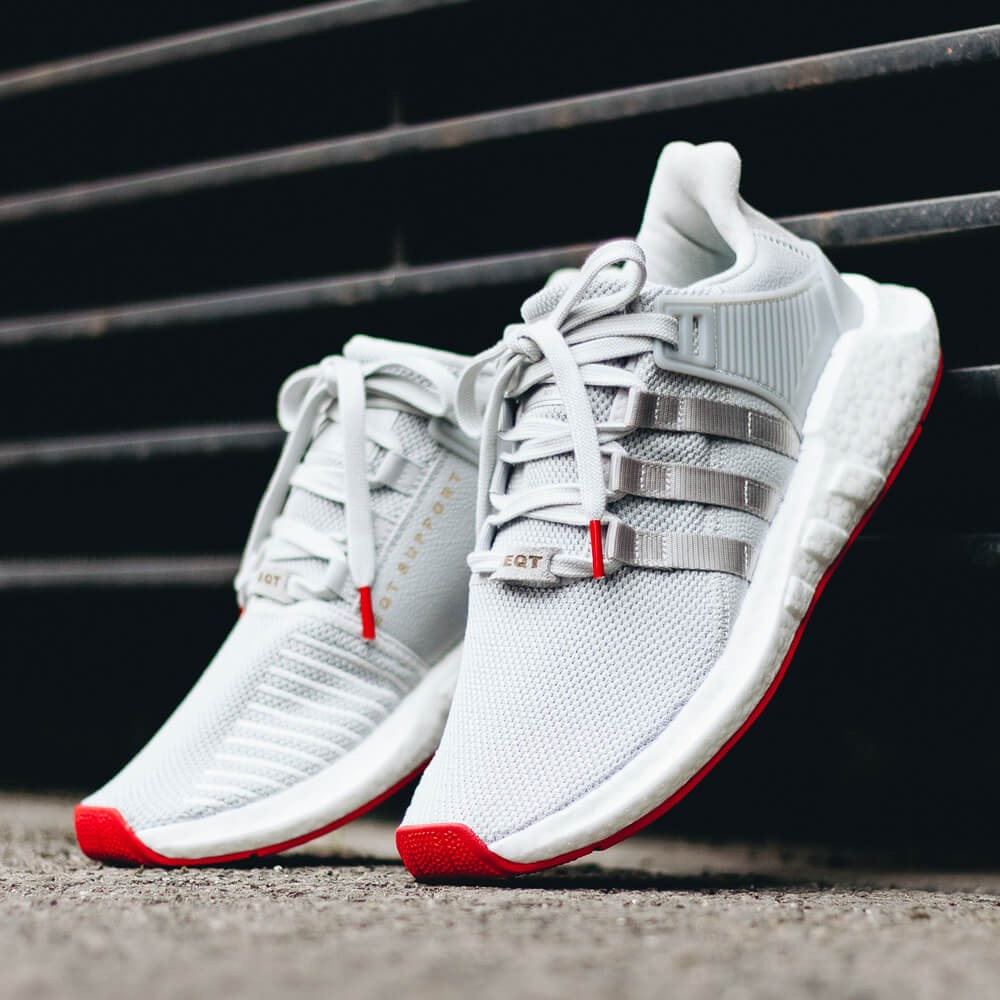 "newest 10a69 6218d Adidas EQT Support 9317 Boost ""Red Carpet Pack"" - Matte Silver  Matte  Silver  Ftwr White • stickabush.com"