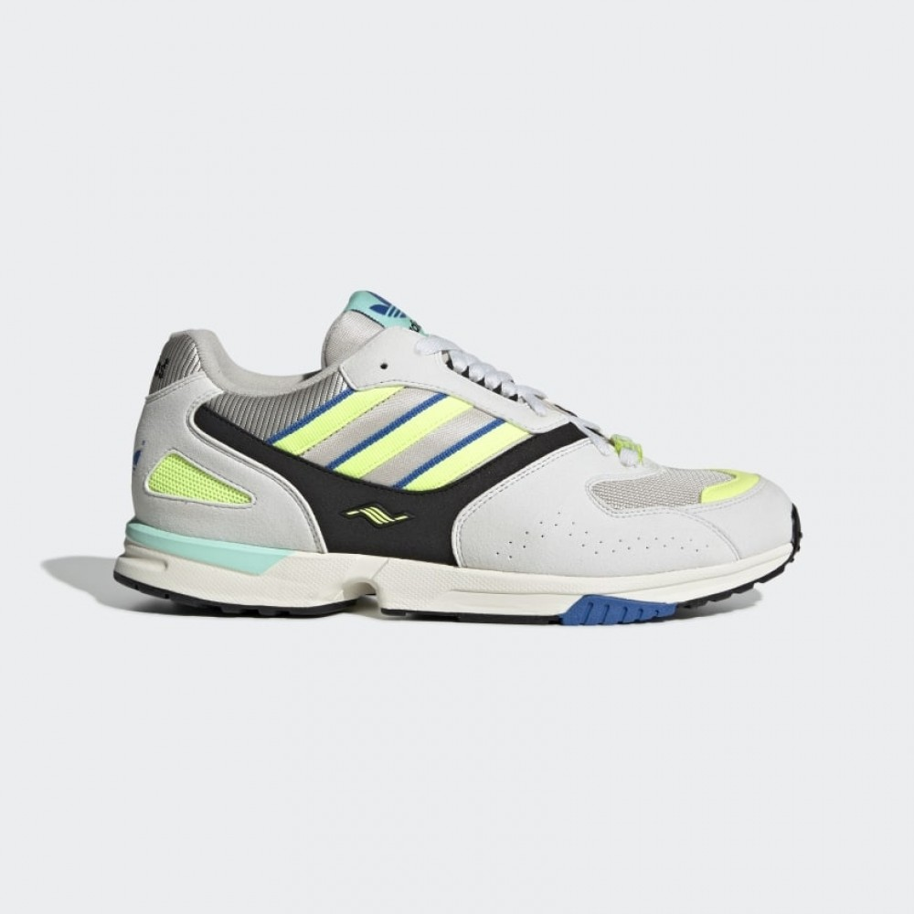 bbc7a3144a292 Adidas ZX 4000 - Crystal White   Semi Solar Yellow   Core Black ...