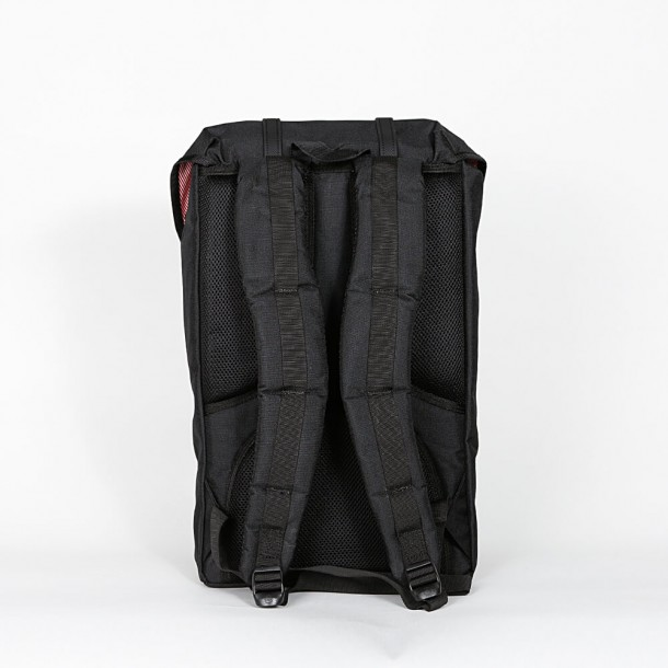 Herschel Supply Co. Little America Backpack Black / Ballistic / Rubber-01