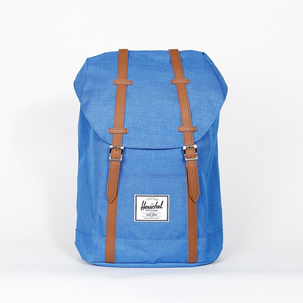 Herschel Supply Co. Retreat Backpack Cobalt Crosshatch-01