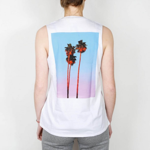 Stussy 3 Palms Muscle Tee White-01