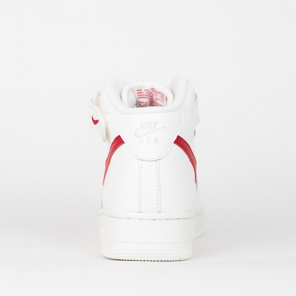 Nike Air Force 1 Mid '07 Sail University Red