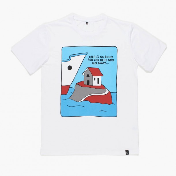 By Parra T-Shirt Little Room White-01