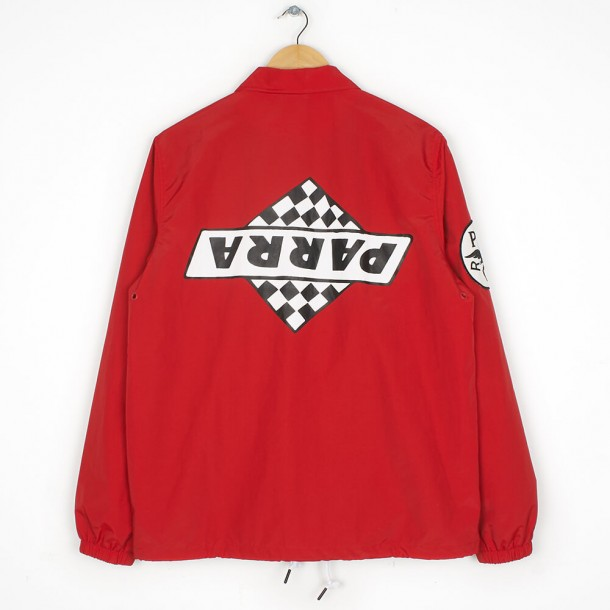 By Parra Coach Jacket Not Racing Red-01