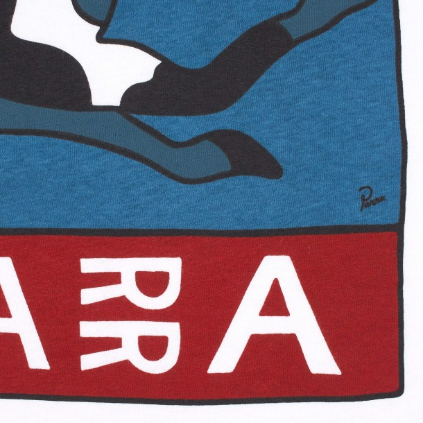 By Parra Escaping You T-Shirt White-01