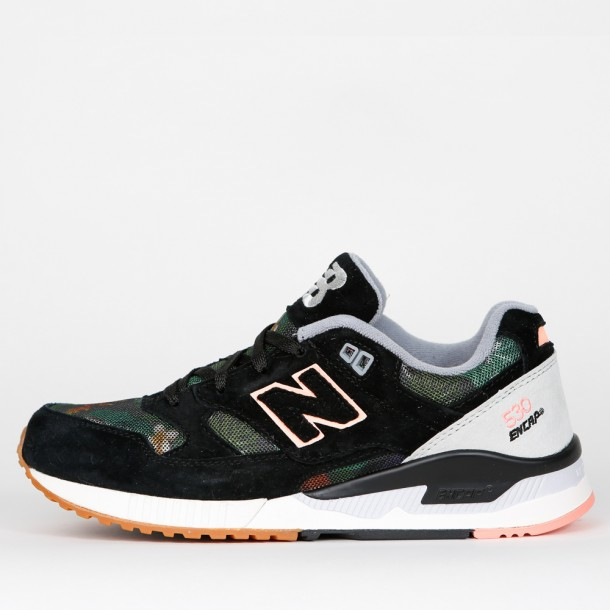 New Balance W530 MOW Floral Ink Black Steel Cosmic