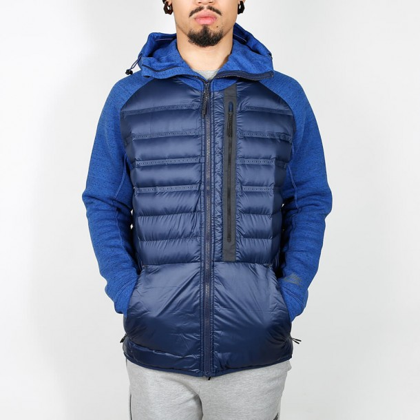 eb6baaf296fa Nike Tech Fleece Aeroloft Jacket - Obsidian   Black - 678261 451