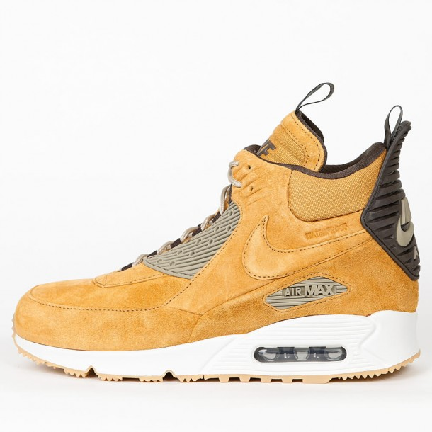 the best attitude 200c4 ccd76 Nike Air Air Max 90 Sneakerboot Winter - Bronze   Black Bamboo Bl Ribbon -  684714 700 - stickabush.com