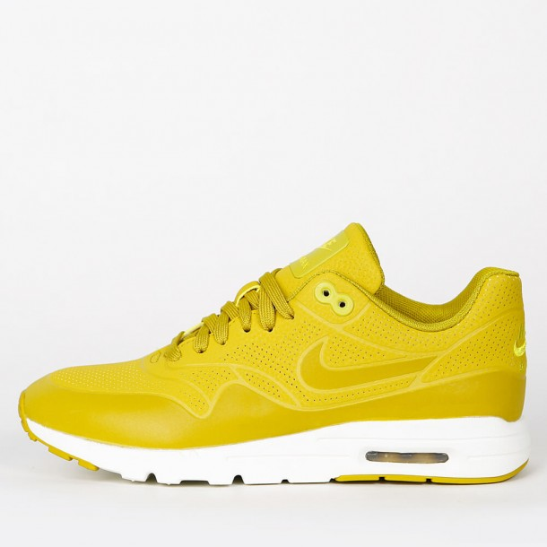 uk availability a4a4f 1d4f7 Nike Wmns Air Max 1 Ultra Moire - Dark Citron   Bright Citron - 704995 301  - stickabush.com