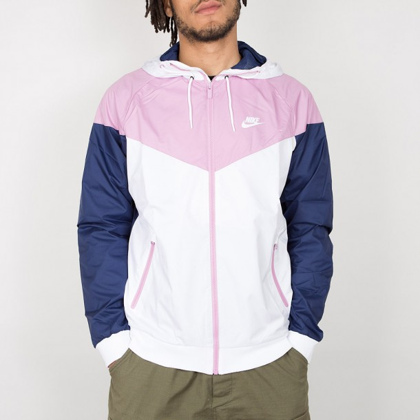 c7c3ca6374866 Nike Windrunner Jacket - White   Orchid   Binary Blue   White ...