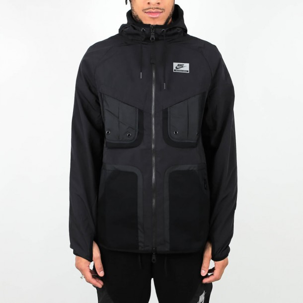 Nike International Windrunner Jacket - Black • stickabush.com 6c0ba3392a
