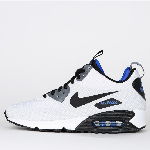 Nike Air Max 90 Mid Winter Print Night Silver Black