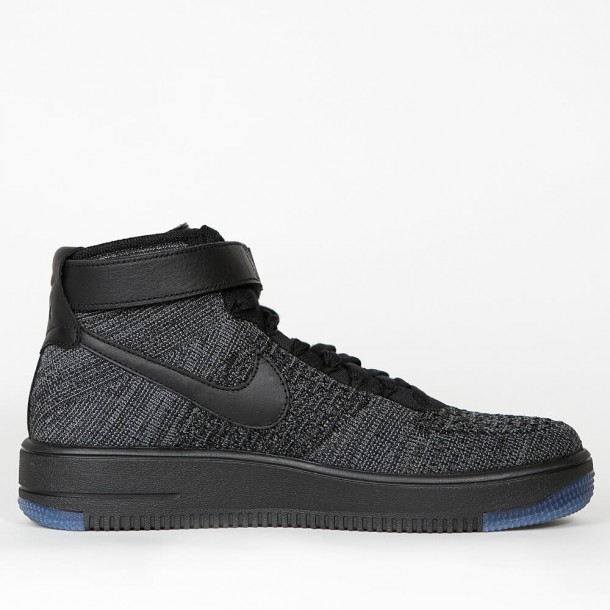 The Nike Air Force 1 Ultra Flyknit Black Is Now Available