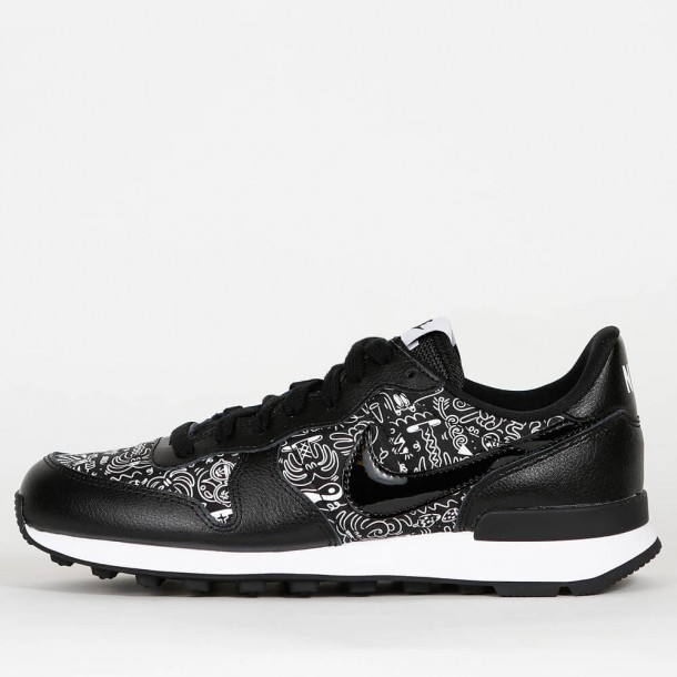 Nike Wmns Internationalist Print Black Black White