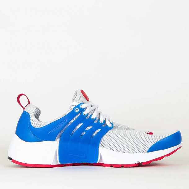 Nike Air Presto Essential Dusty Grey / University Red Hyper Cobalt-01