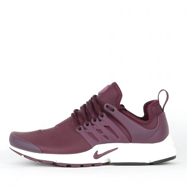 5919adec3366 Nike Wmns Air Presto Premium - Night Maroon   Night Maroon - Sail •  stickabush.com