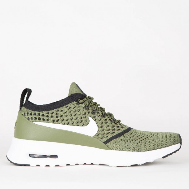 NIKE Wmns Air Max Thea Olive × Summit White FW16   Olive