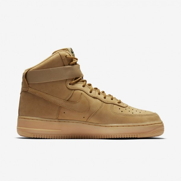 Nike Air Force 1 High 07 LV8 WB Flax / Flax Outdoor Green Gum Light Brown-01