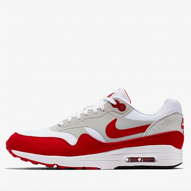 Nike Wmns Air Max 1 Ultra 2.0 White University Red