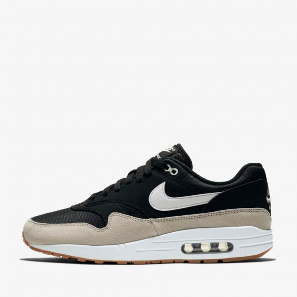 low priced 7fa55 fc66a Nike Air Max 1 Black   White Light Bone-01