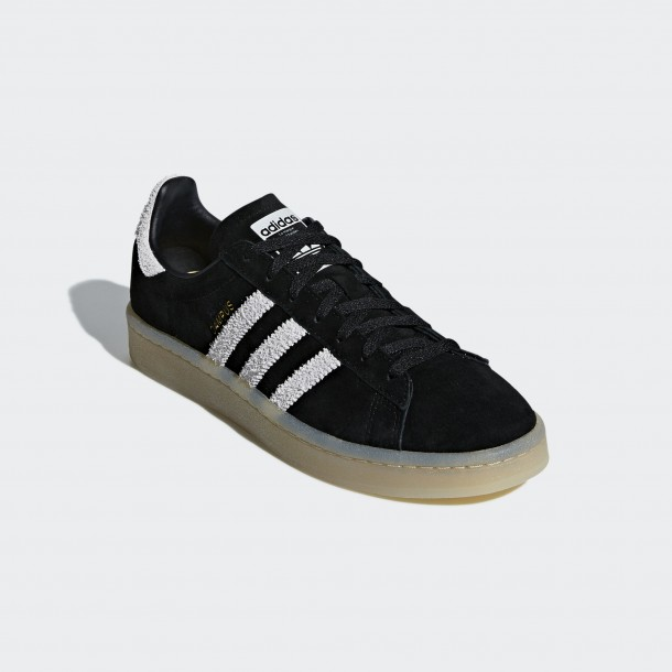 Adidas Campus W Core Black / Grey One F17 / Gum4-01