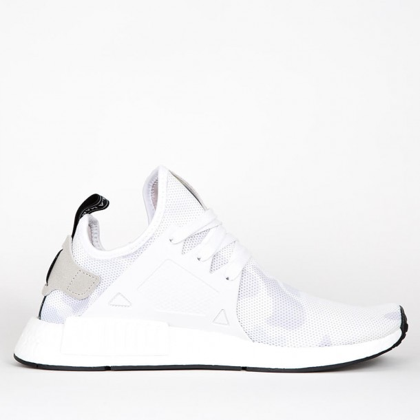 save off f85c2 5fafe Adidas NMD XR1 Duck Camo - Running White / Core Black ...