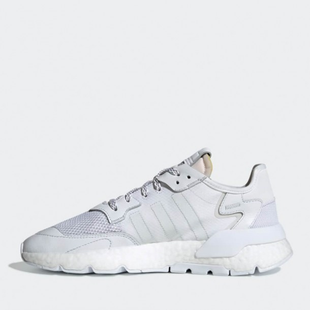 new product 47840 25a45 Adidas Nite Jogger Ftwr White   Crystal White   Grey One-01