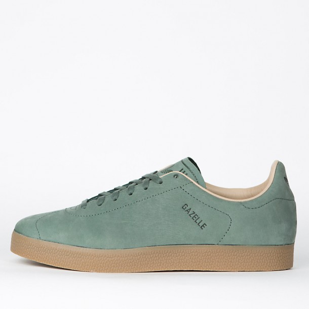 5ed9a370b477c5 Adidas Gazelle Decon Trace Green S17   Trace Green S17   St Pale Nude F13-