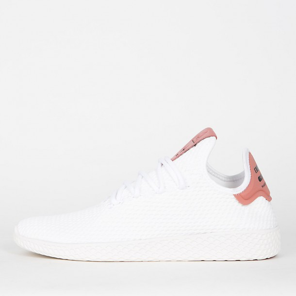 timeless design 752c3 42277 Adidas Pharrell Williams Tennis HU - Footwear White / Footwear White / Raw  Pink • stickabush.com