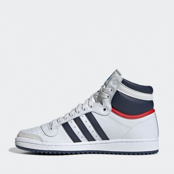 Adidas Top Ten Hi Beige / Onyx / Collegiate Red-01