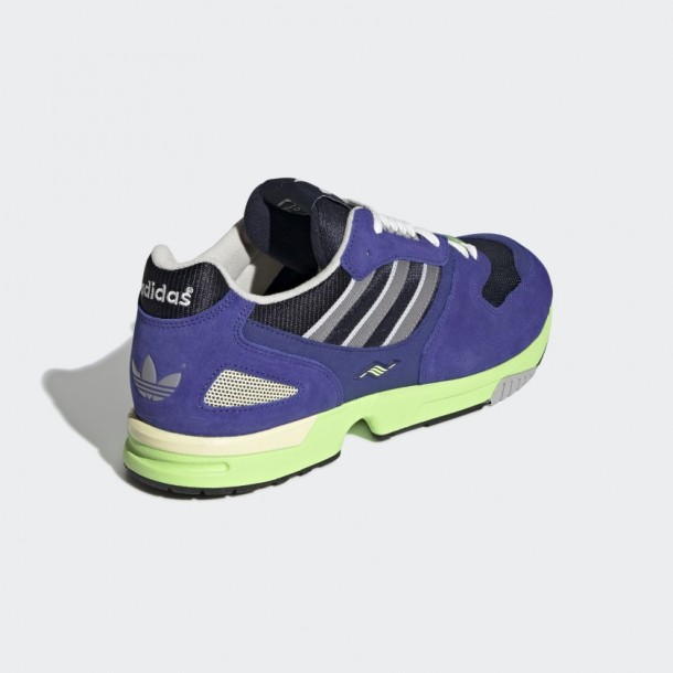 Adidas ZX 4000 Active Blue Grey Three Real Purple