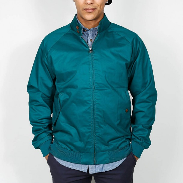 Ben Sherman Harrington Bottle Green-01