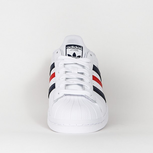 Adidas Superstar Foundation Ftwr White Collegiate Navy