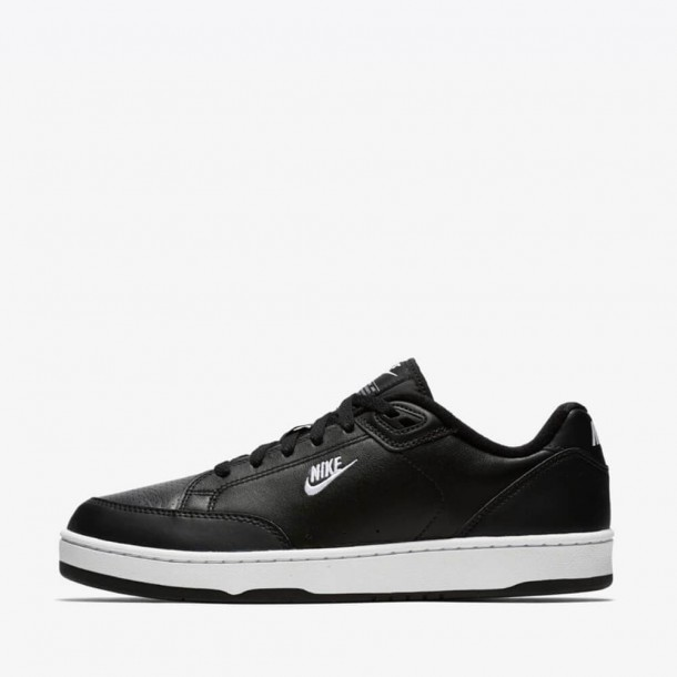 Nike Grandstand II Black / White Neutral Grey-01