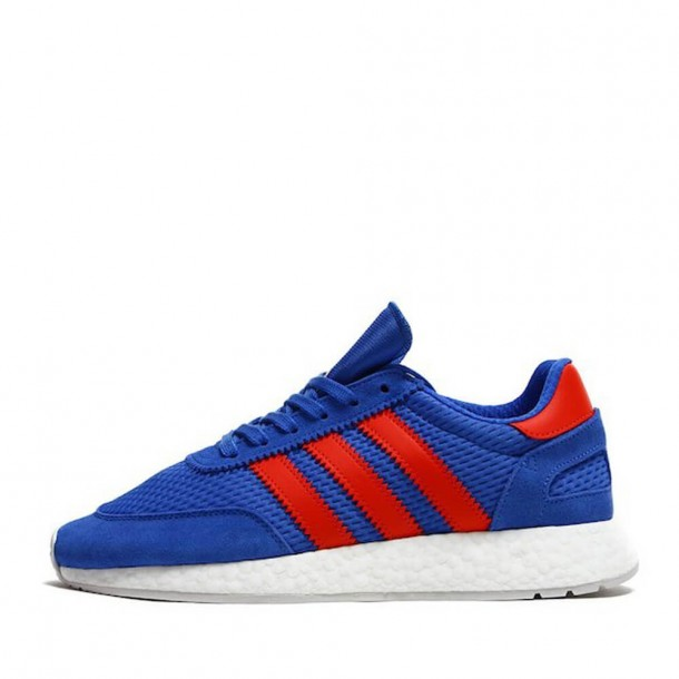 Adidas I-5923 Runner Boost Hi-Res Blue / Solar Red / Grey One-31