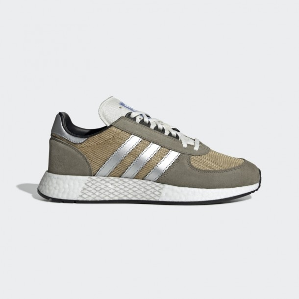 special for shoe sale on feet at Adidas Marathon Tech - Trace Cargo / Silver Met. / Raw Sand ...