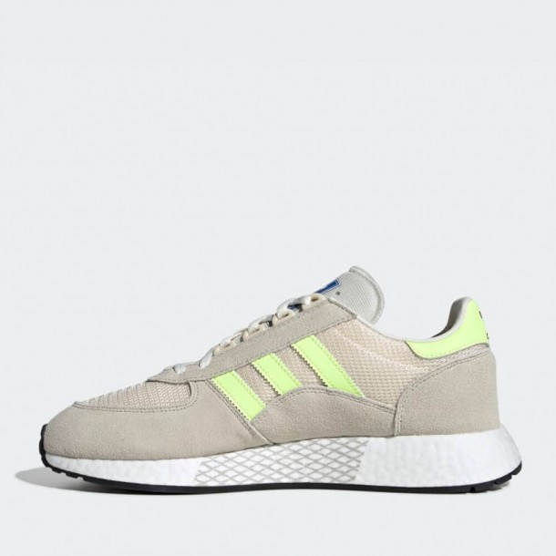 motor Olla de crack Conectado  Adidas Marathon Tech - Clear Brown / Hi-Res Yellow / Ecru Tint •  stickabush.com