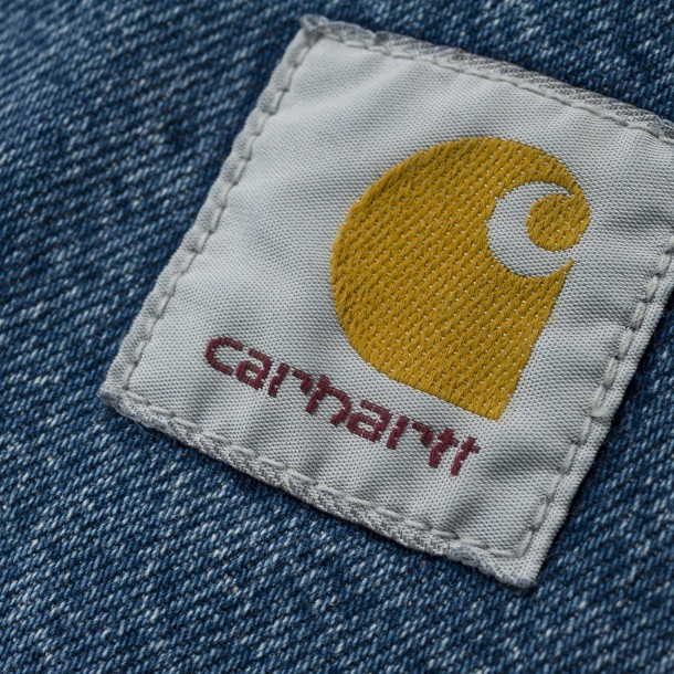 Carhartt WIP Pontiac Pant Blue (stone washed)-01
