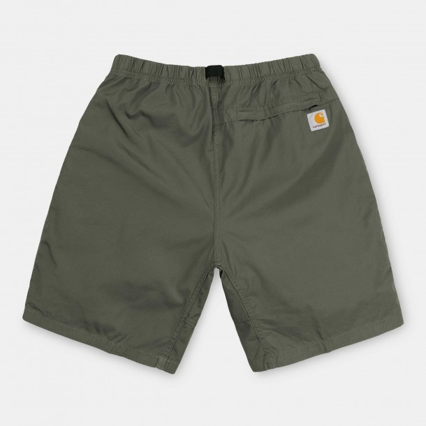 Carhartt WIP Clover Short Dollar Green (rinsed)-01