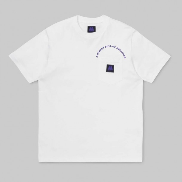 Carhartt WIP x S/S Motown Pocket T-Shirt White / Prism Violet-01