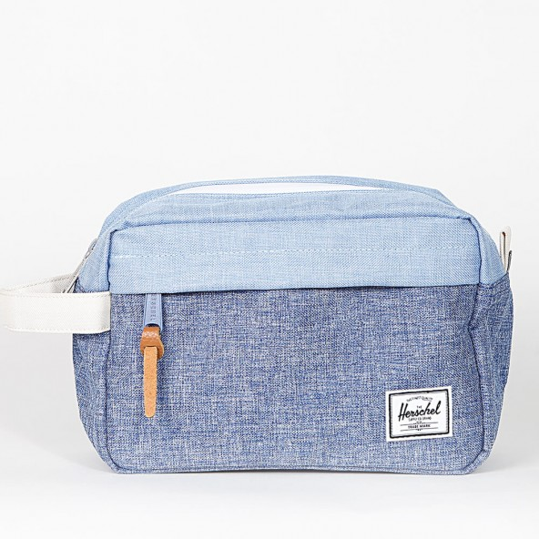 Herschel Supply Co. Chapter Travel Kit Limoges Crosshatch / Chambray-01