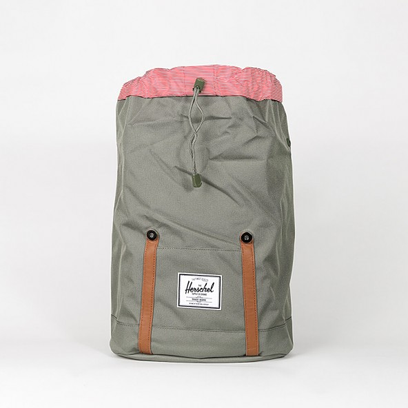 Herschel Supply Co. Retreat Backpack Deep Lichen Green-01