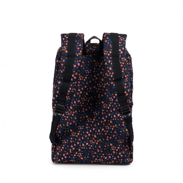 e1a5581fca63 Herschel Supply Co. Retreat Mid-Volume Backpack Black Mini Floral   Black-01
