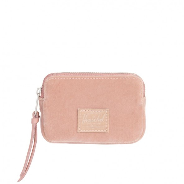 Herschel Supply Co Oxford Pouch Rfid Wallet Ash Rose