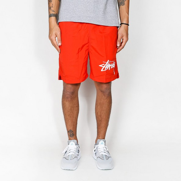 Stussy Stock Elastic Waist Trunk Red-01