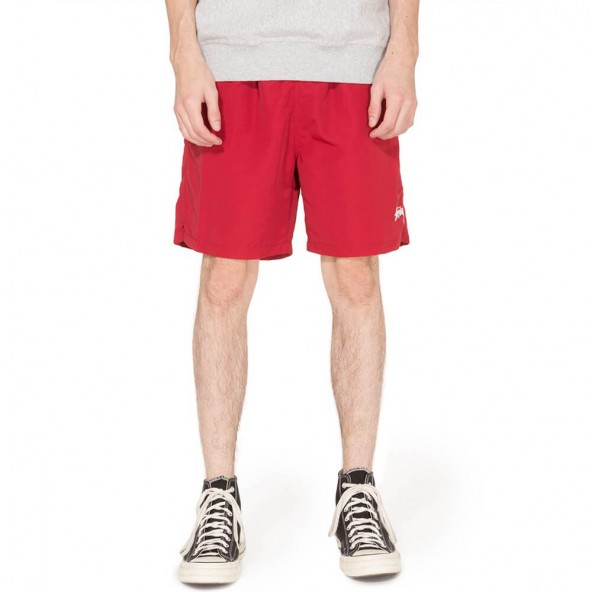 Stussy Stock Water Short Red-01