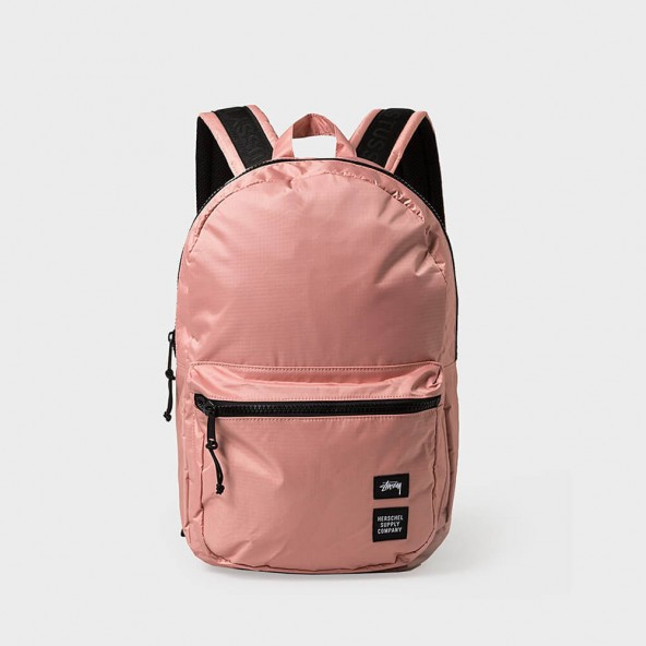 Stussy X Herschel Rip Stop Lawson Backpack Pink-01