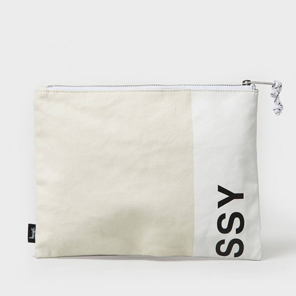Stussy X Herschel Heavy Canvas Large Network White-01