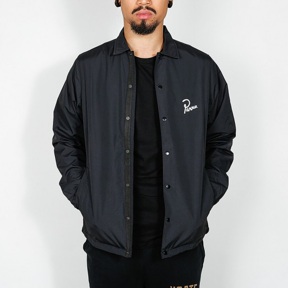 By Parra Coach Jacket Hiding Black-01